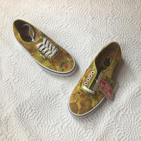 185bfc13684b Vans x Vincent Van Gogh Museum Sunflowers Sneaker